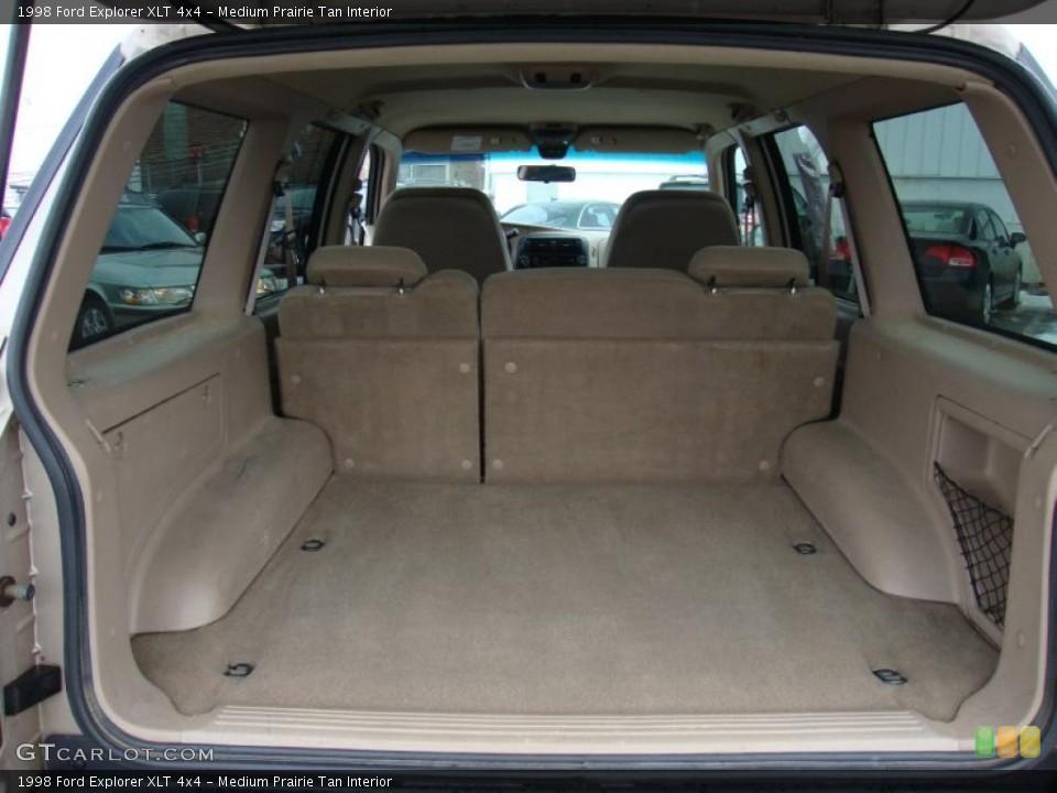 Medium Prairie Tan Interior Trunk for the 1998 Ford Explorer XLT 4x4 #43370588