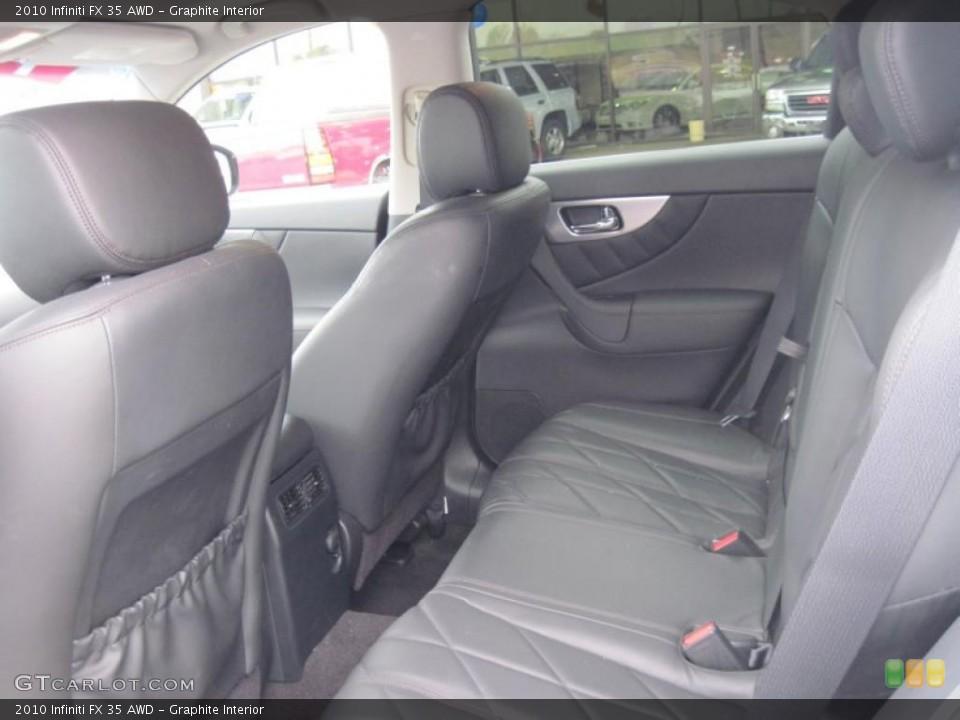Graphite Interior Photo for the 2010 Infiniti FX 35 AWD #43484051