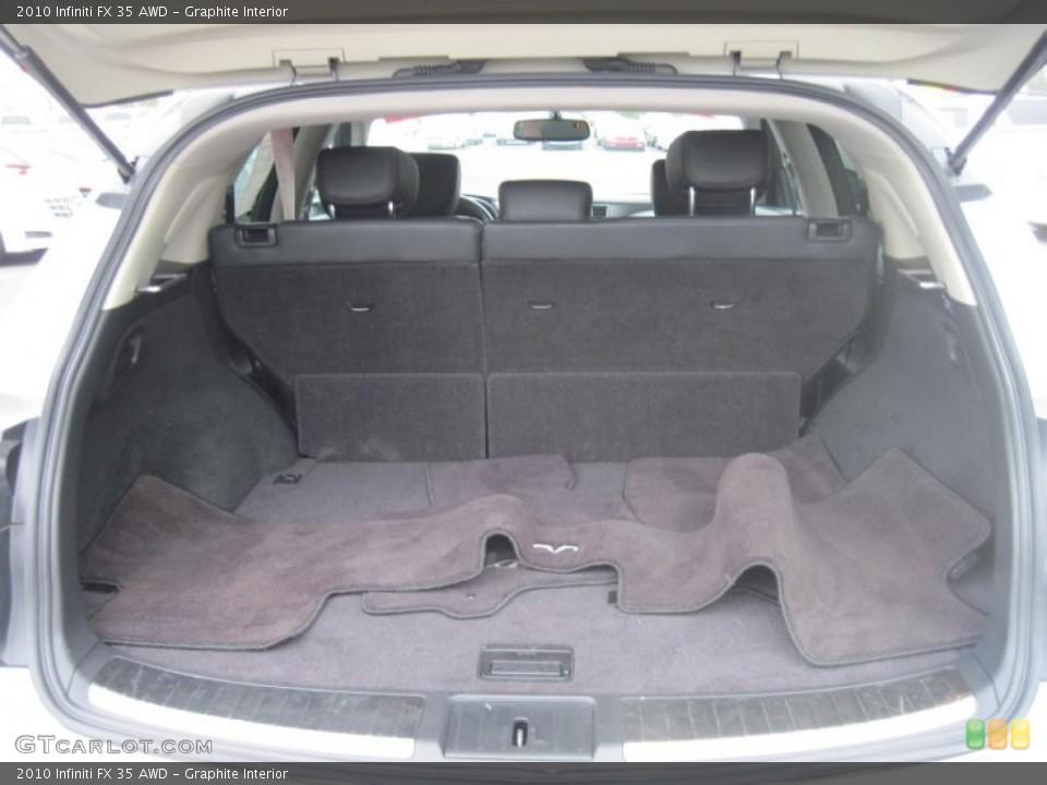 Graphite Interior Trunk for the 2010 Infiniti FX 35 AWD #43484067