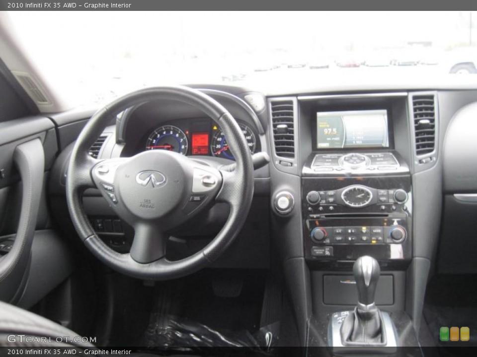 Graphite Interior Dashboard for the 2010 Infiniti FX 35 AWD #43484083