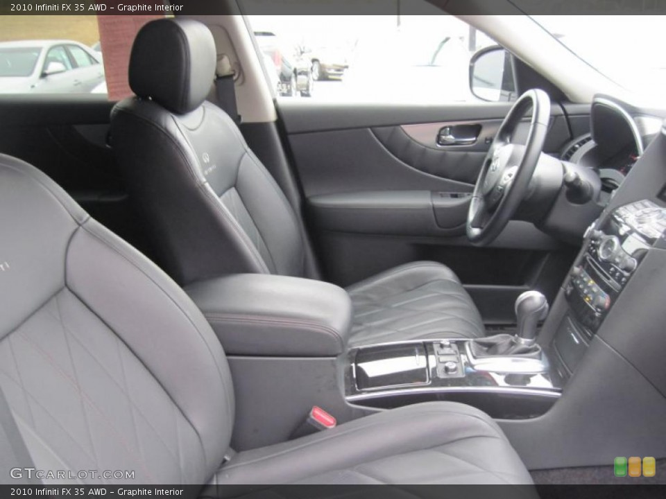 Graphite Interior Photo for the 2010 Infiniti FX 35 AWD #43484107