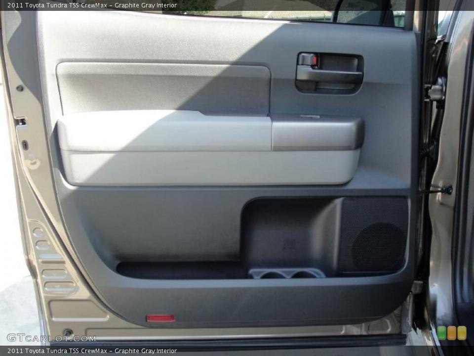 Graphite Gray Interior Door Panel for the 2011 Toyota Tundra TSS CrewMax #43540543