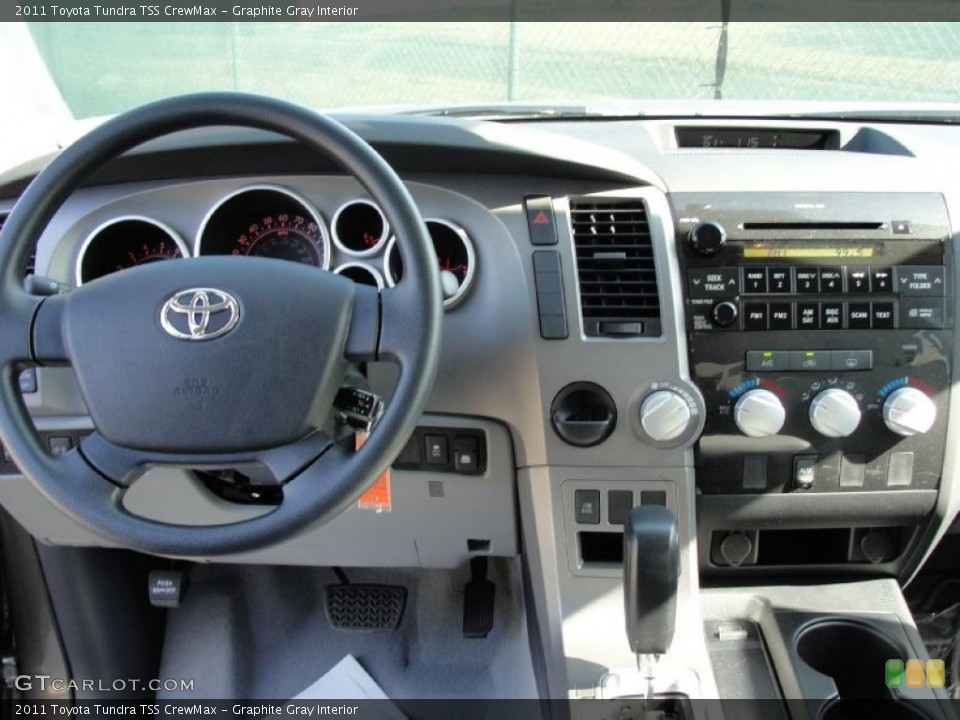 Graphite Gray Interior Dashboard for the 2011 Toyota Tundra TSS CrewMax #43540619