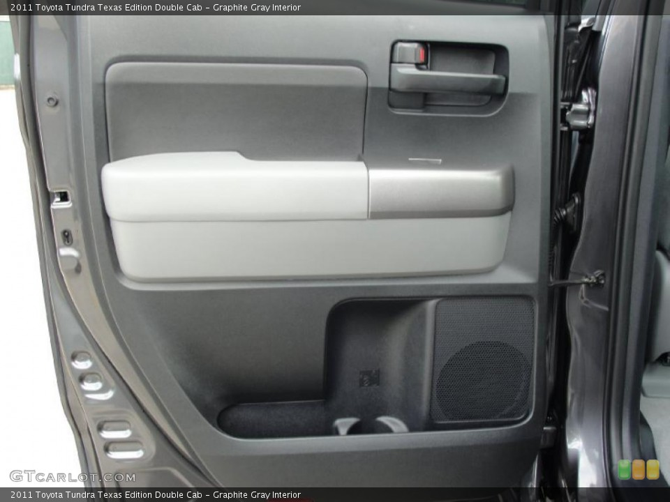 Graphite Gray Interior Door Panel for the 2011 Toyota Tundra Texas Edition Double Cab #43637272