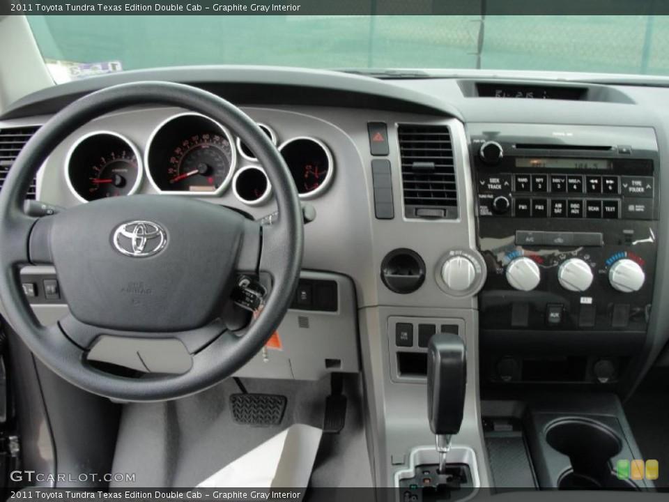 Graphite Gray Interior Dashboard for the 2011 Toyota Tundra Texas Edition Double Cab #43637316