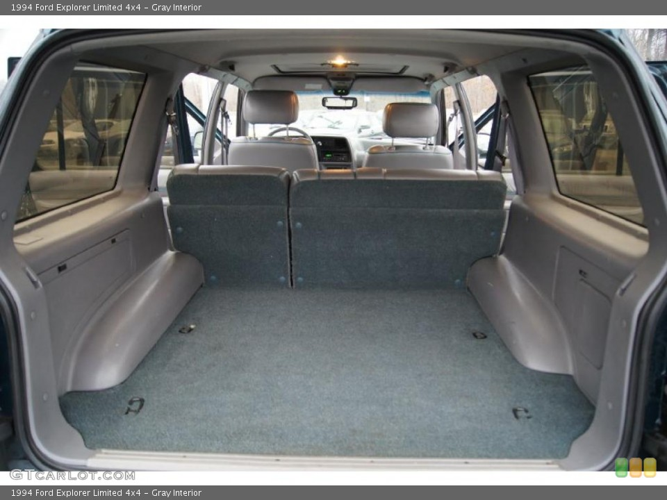 Gray Interior Trunk for the 1994 Ford Explorer Limited 4x4 #44526991