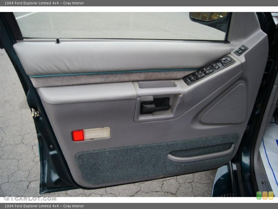Gray Interior Door Panel for the 1994 Ford Explorer Limited 4x4 #44527143