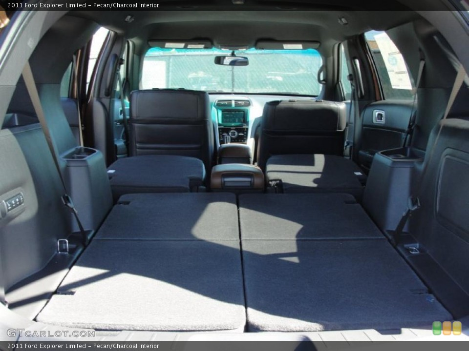 Pecan/Charcoal Interior Trunk for the 2011 Ford Explorer Limited #44781274