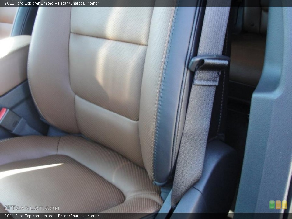 Pecan/Charcoal Interior Photo for the 2011 Ford Explorer Limited #44781386