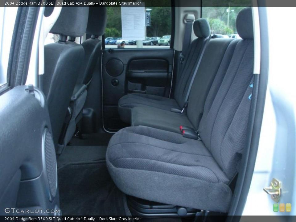 Dark Slate Gray Interior Photo for the 2004 Dodge Ram 3500 SLT Quad Cab 4x4 Dually #44820040