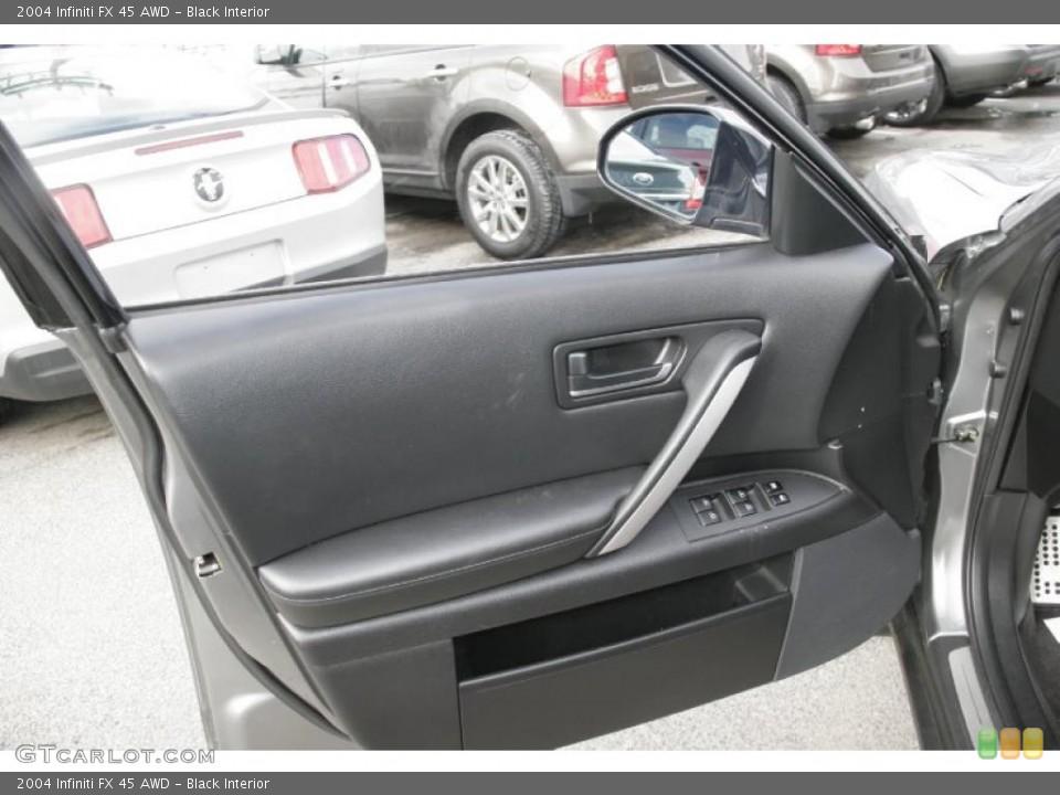 Black Interior Door Panel for the 2004 Infiniti FX 45 AWD #44882017