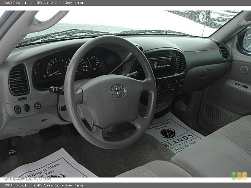 Gray 2003 Toyota Tundra Interiors