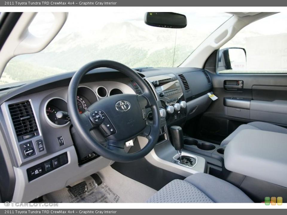 Graphite Gray Interior Prime Interior for the 2011 Toyota Tundra TRD CrewMax 4x4 #45181297