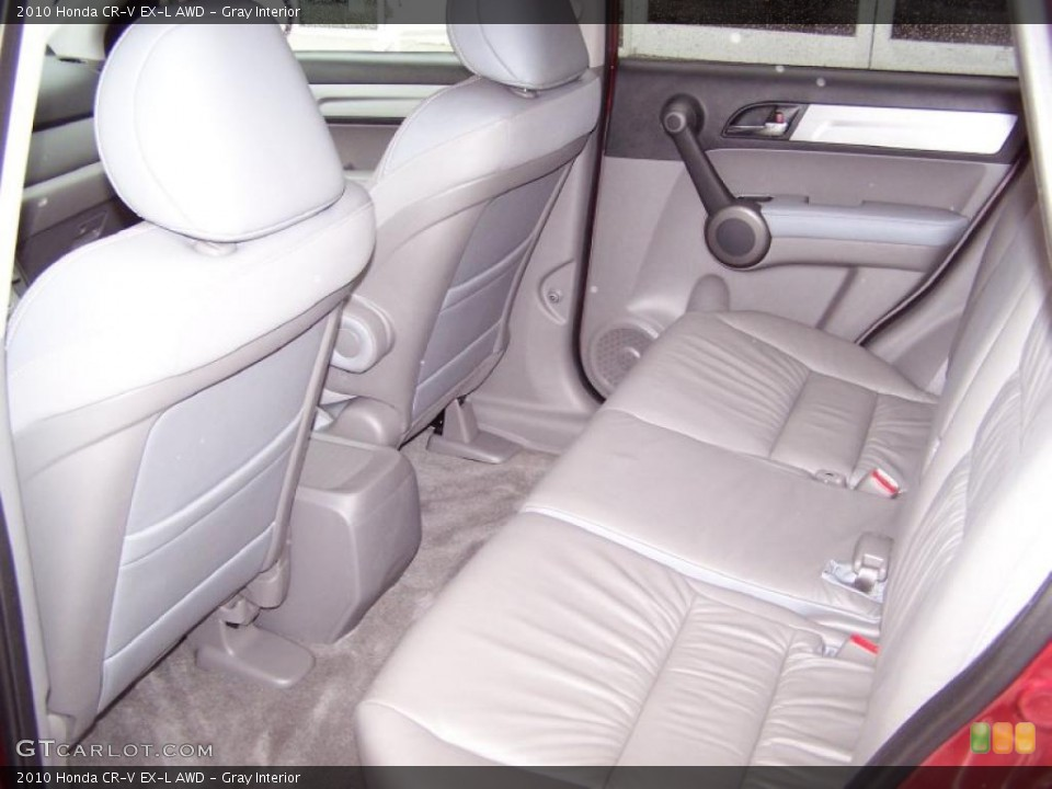 Gray Interior Photo for the 2010 Honda CR-V EX-L AWD #45192713