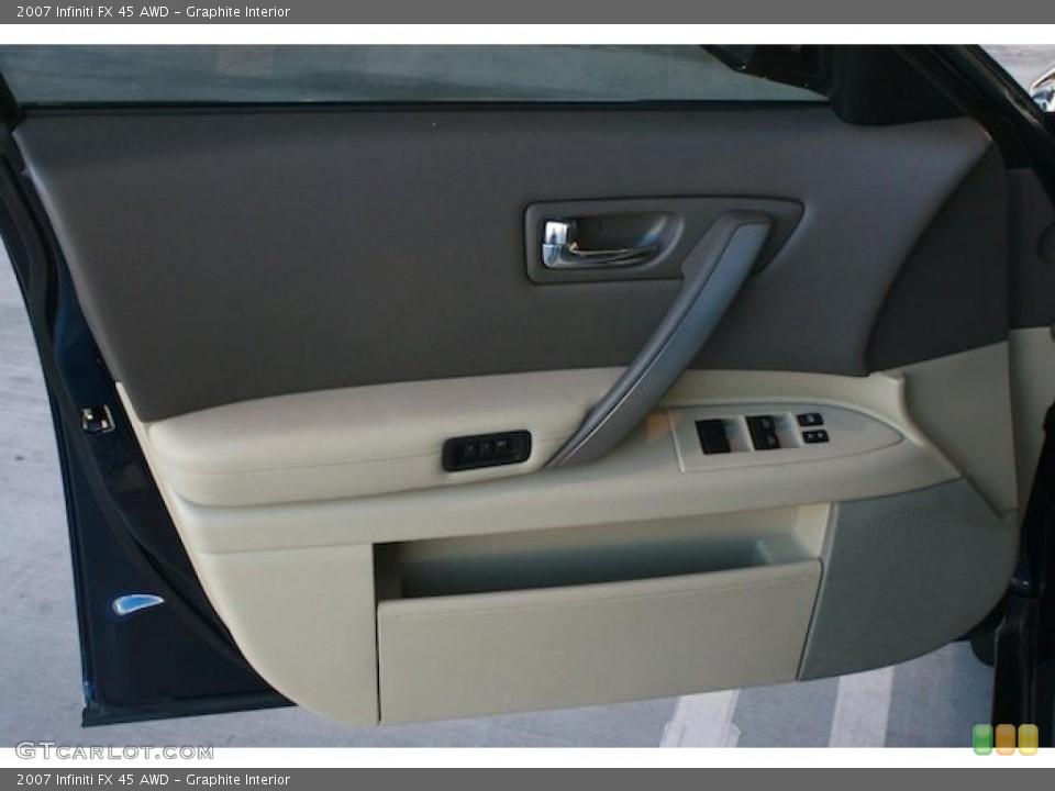 Graphite Interior Door Panel for the 2007 Infiniti FX 45 AWD #45278429