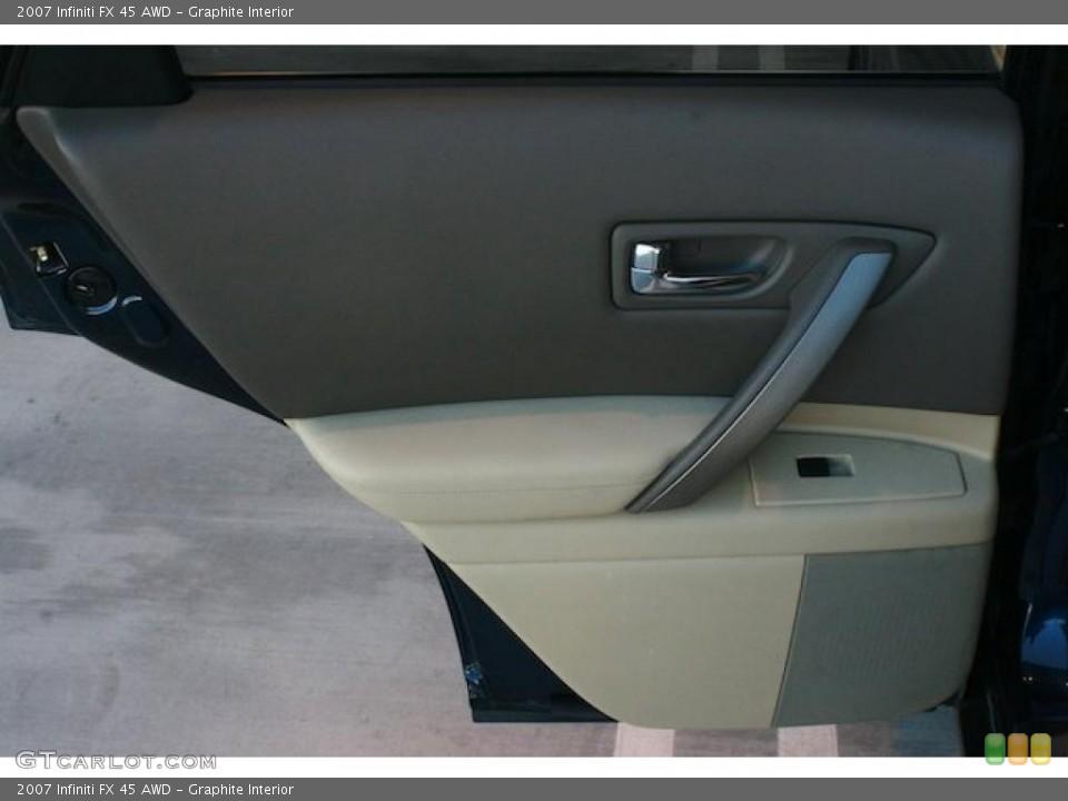 Graphite Interior Door Panel for the 2007 Infiniti FX 45 AWD #45278433