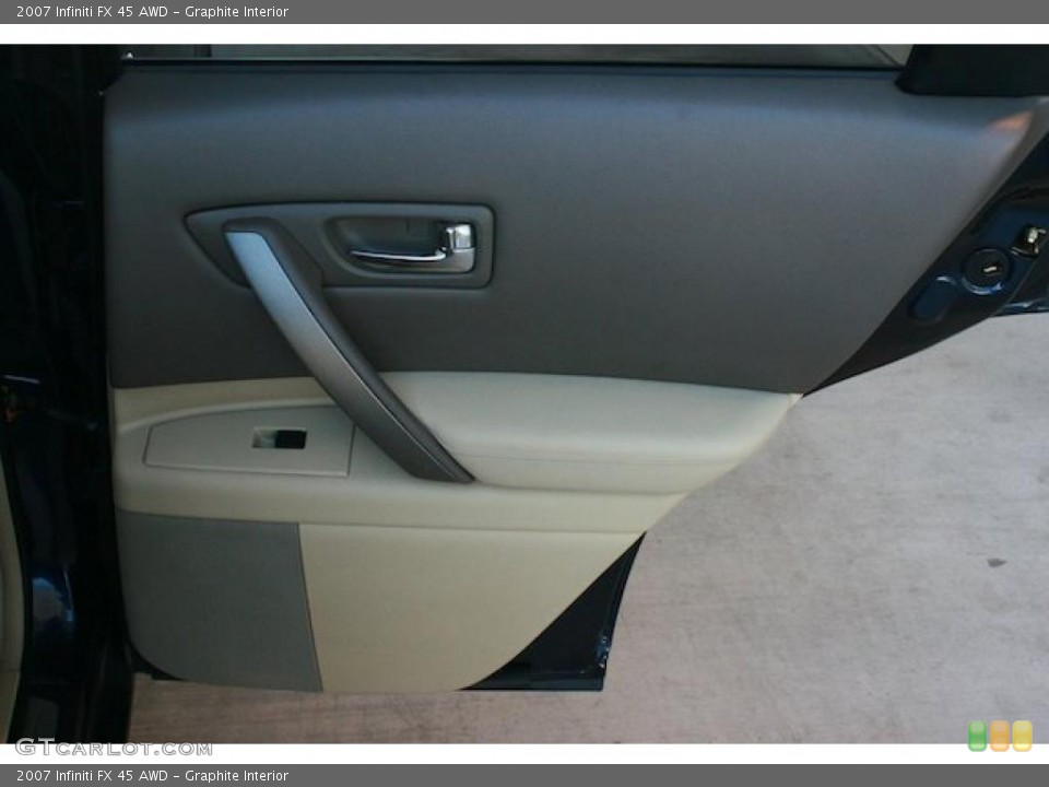 Graphite Interior Door Panel for the 2007 Infiniti FX 45 AWD #45278437