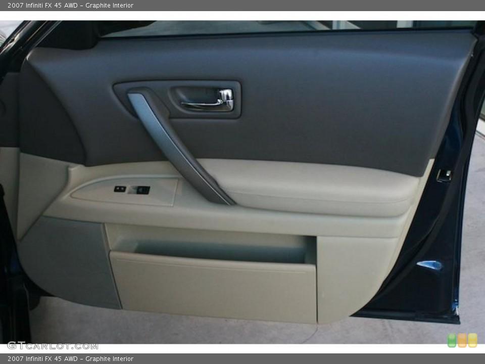 Graphite Interior Door Panel for the 2007 Infiniti FX 45 AWD #45278441