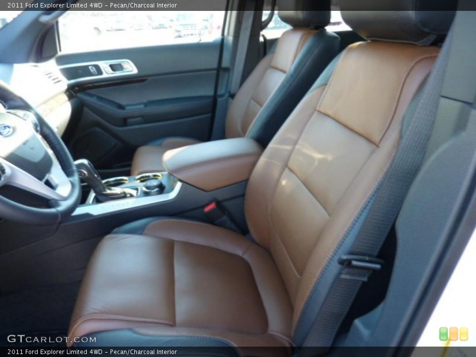 Pecan/Charcoal Interior Photo for the 2011 Ford Explorer Limited 4WD #45333772