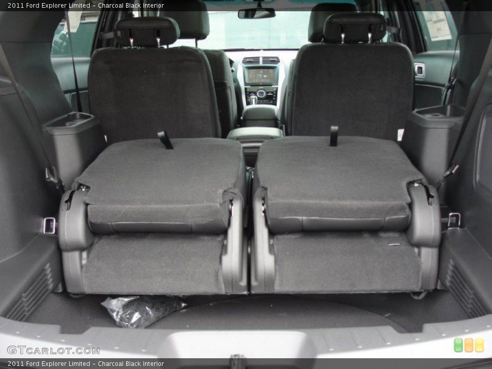Charcoal Black Interior Photo for the 2011 Ford Explorer Limited #45538707