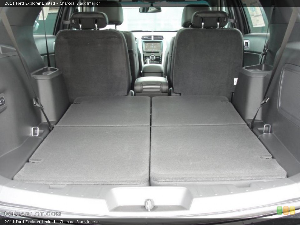 Charcoal Black Interior Trunk for the 2011 Ford Explorer Limited #45538711