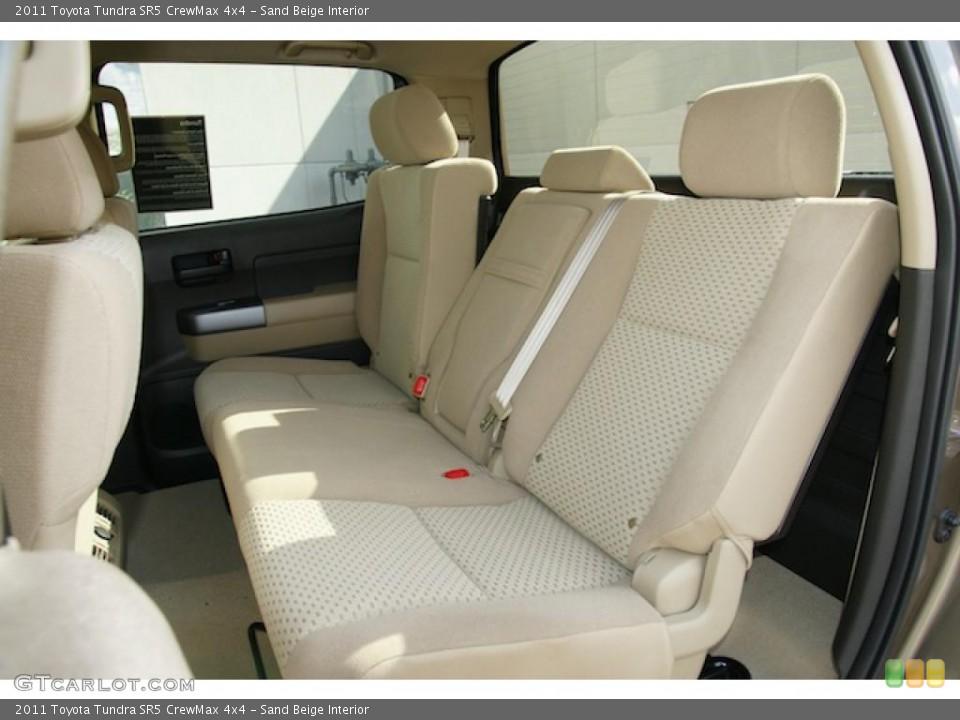 Sand Beige Interior Photo for the 2011 Toyota Tundra SR5 CrewMax 4x4 #45574846