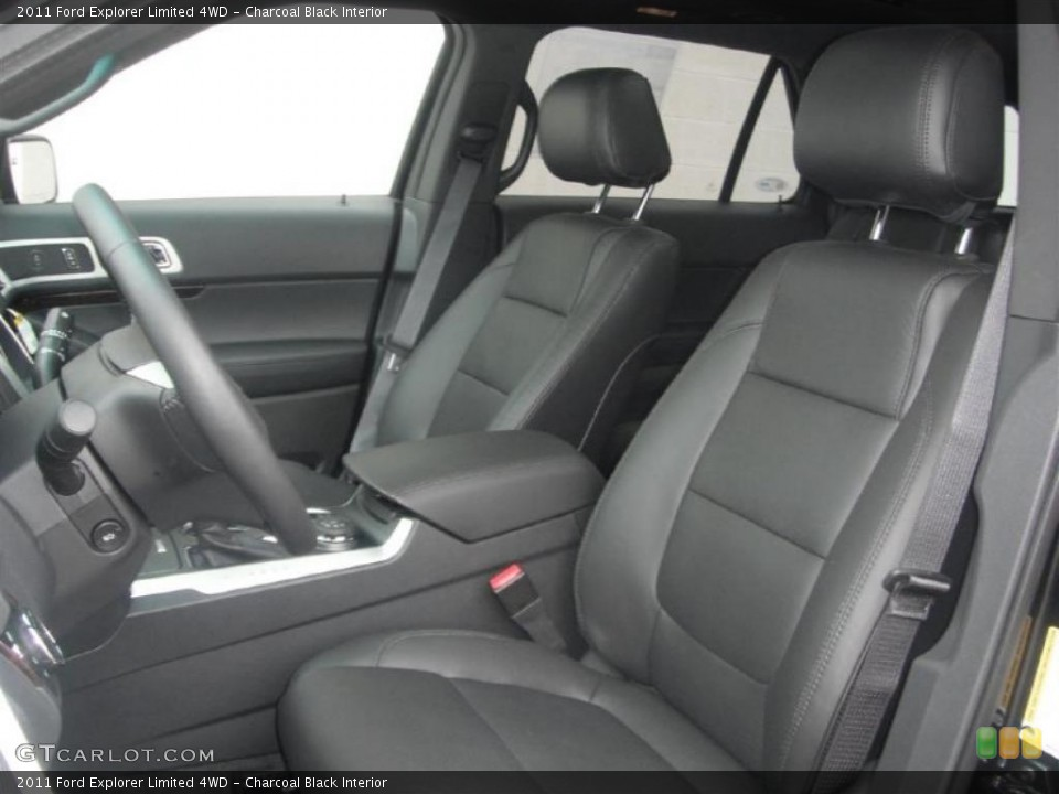 Charcoal Black Interior Photo for the 2011 Ford Explorer Limited 4WD #45619264