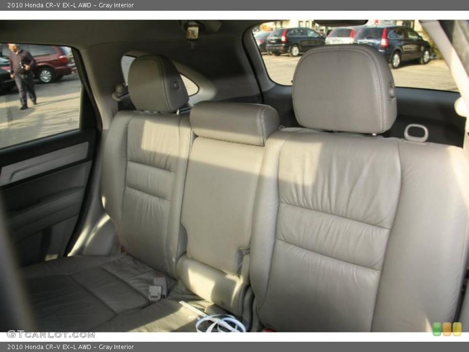Gray Interior Photo for the 2010 Honda CR-V EX-L AWD #45625602