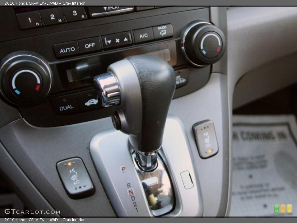 Gray Interior Transmission for the 2010 Honda CR-V EX-L AWD #45634217