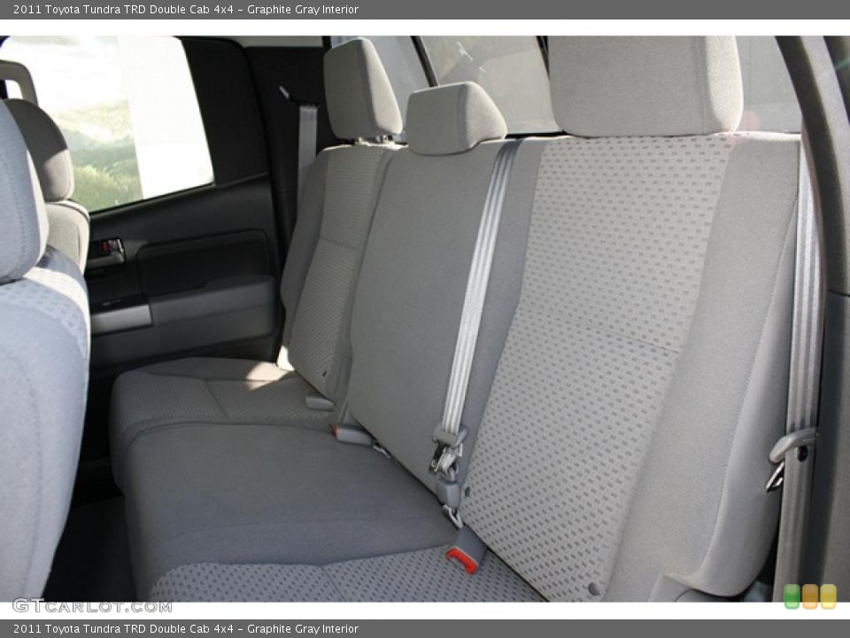 Graphite Gray Interior Photo for the 2011 Toyota Tundra TRD Double Cab 4x4 #45702729