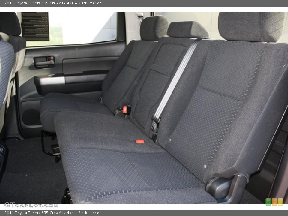 Black Interior Photo for the 2011 Toyota Tundra SR5 CrewMax 4x4 #45703101