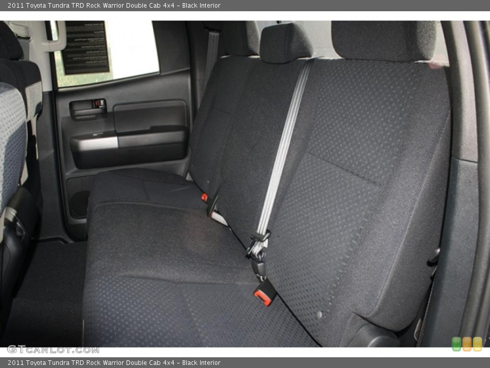 Black Interior Photo for the 2011 Toyota Tundra TRD Rock Warrior Double Cab 4x4 #45703185