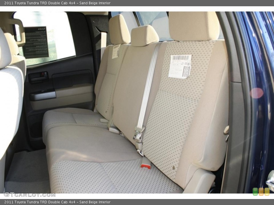 Sand Beige Interior Photo for the 2011 Toyota Tundra TRD Double Cab 4x4 #45749106