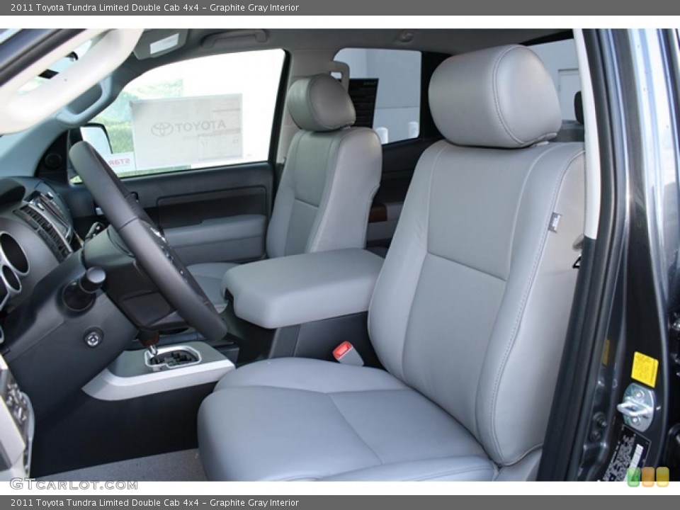 Graphite Gray Interior Photo for the 2011 Toyota Tundra Limited Double Cab 4x4 #45749138