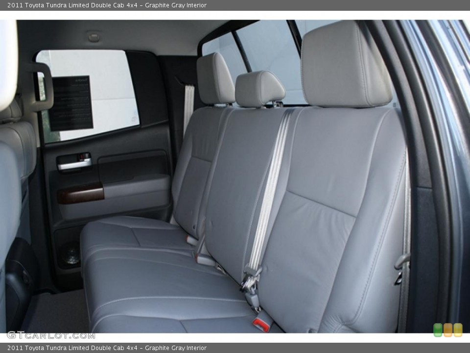 Graphite Gray Interior Photo for the 2011 Toyota Tundra Limited Double Cab 4x4 #45749142