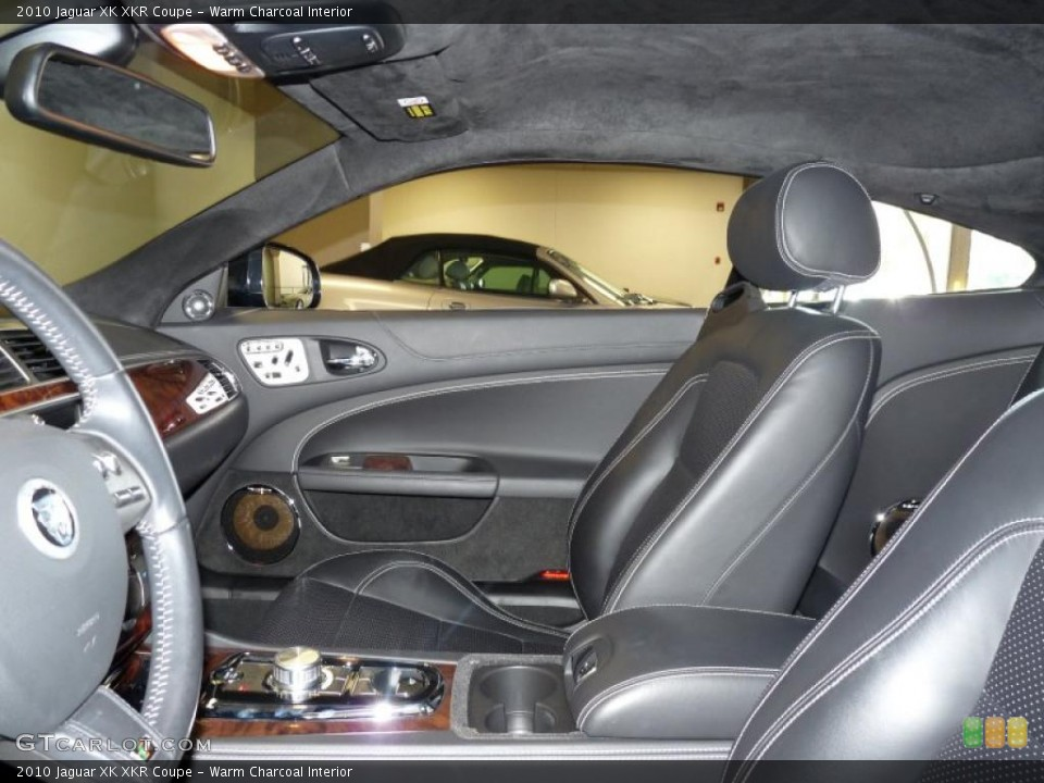 Warm Charcoal Interior Photo for the 2010 Jaguar XK XKR Coupe #45753598