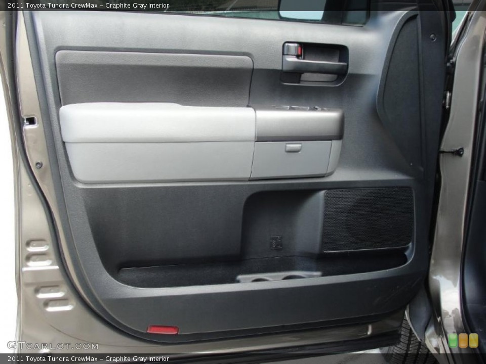 Graphite Gray Interior Door Panel for the 2011 Toyota Tundra CrewMax #45776740