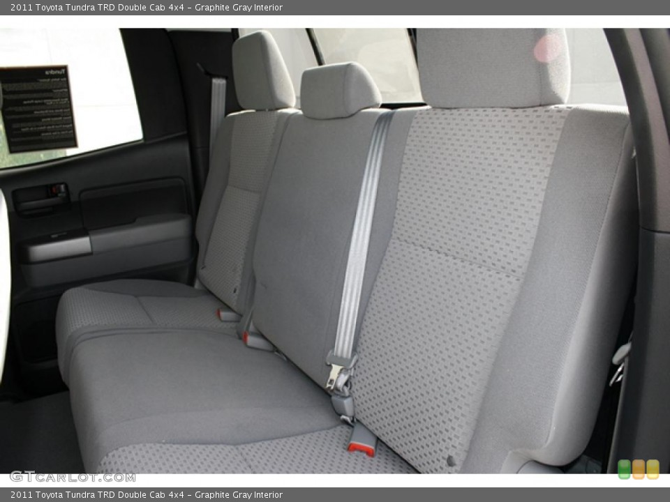 Graphite Gray Interior Photo for the 2011 Toyota Tundra TRD Double Cab 4x4 #45794611