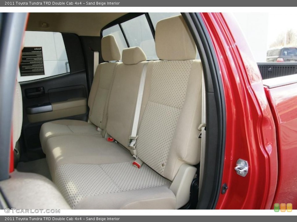 Sand Beige Interior Photo for the 2011 Toyota Tundra TRD Double Cab 4x4 #45796543