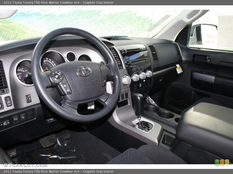Graphite Gray Interior Photo for the 2011 Toyota Tundra TRD Rock Warrior CrewMax 4x4 #45802437