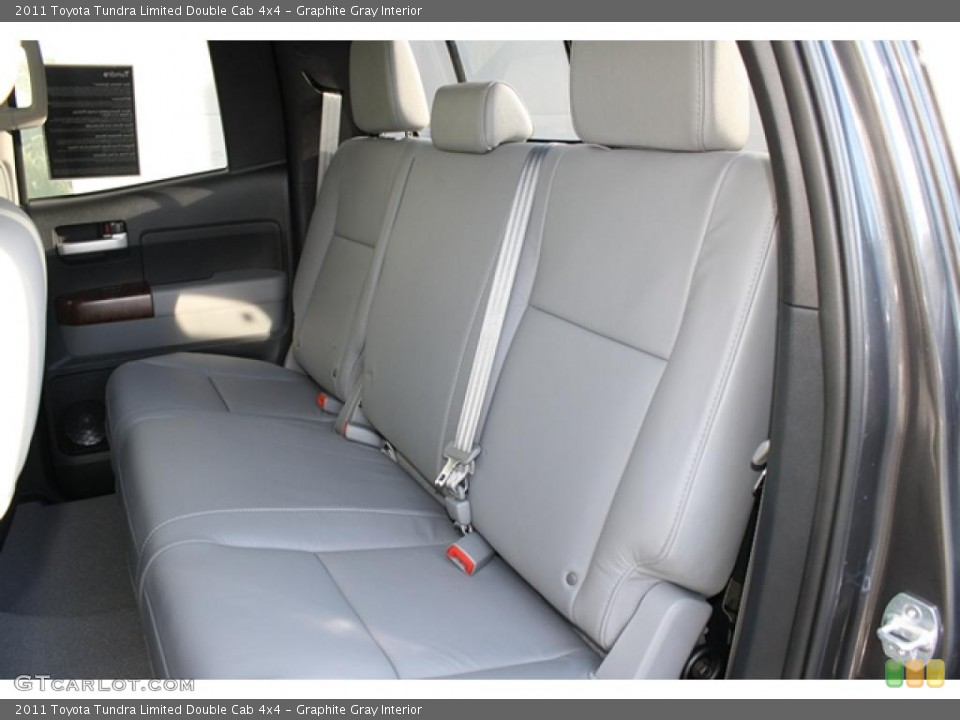 Graphite Gray Interior Photo for the 2011 Toyota Tundra Limited Double Cab 4x4 #45802933