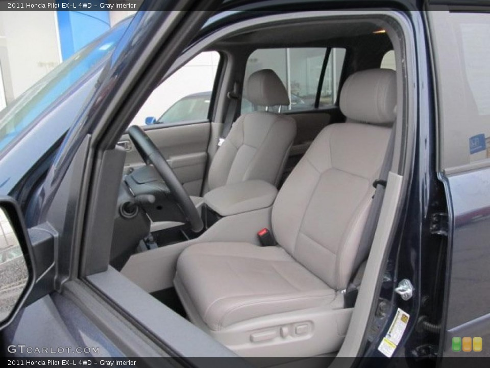 Gray Interior Photo for the 2011 Honda Pilot EX-L 4WD #45820147