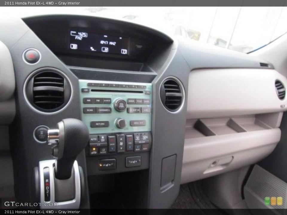 Gray Interior Controls for the 2011 Honda Pilot EX-L 4WD #45820155