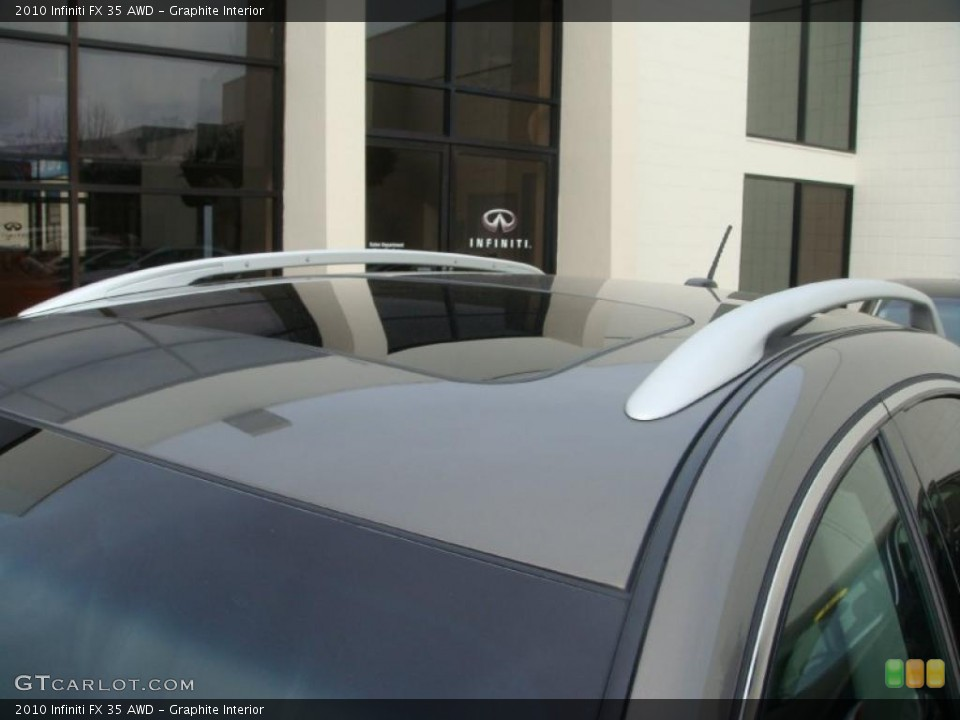 Graphite Interior Sunroof for the 2010 Infiniti FX 35 AWD #45829073