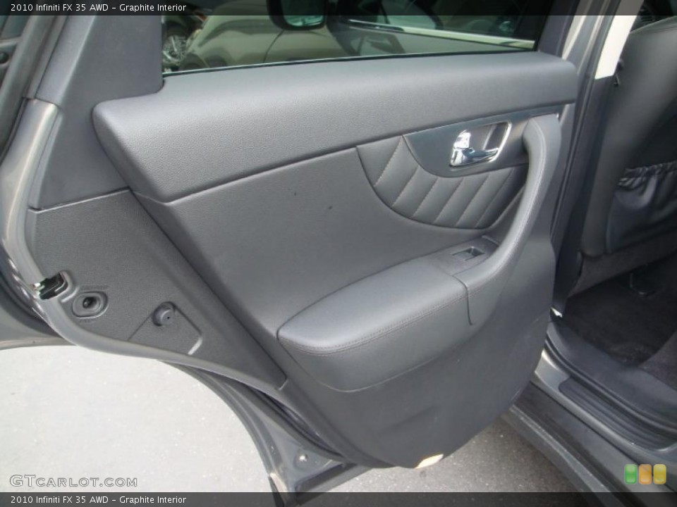 Graphite Interior Door Panel for the 2010 Infiniti FX 35 AWD #45829177