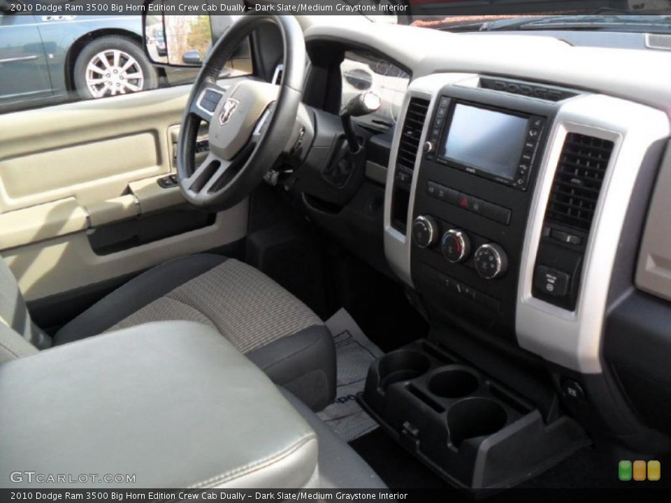 Dark Slate/Medium Graystone Interior Dashboard for the 2010 Dodge Ram 3500 Big Horn Edition Crew Cab Dually #45852805