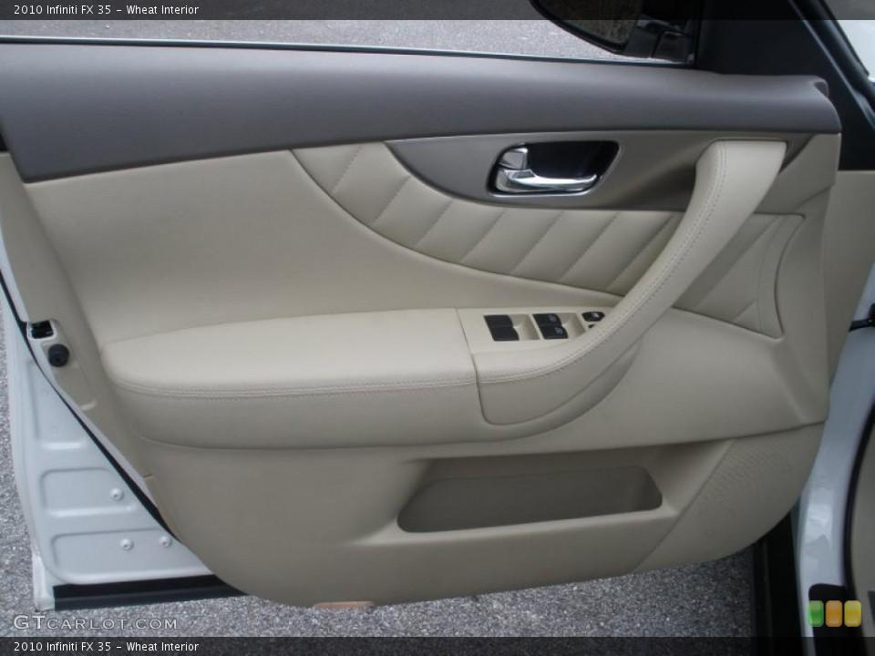 Wheat Interior Door Panel for the 2010 Infiniti FX 35 #45994145