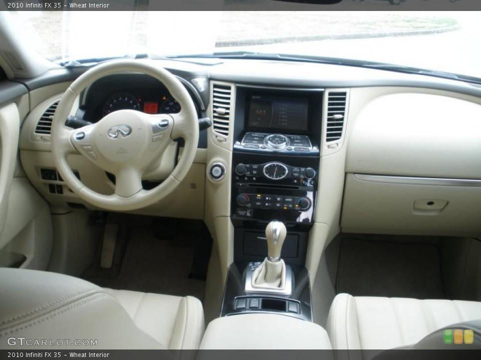 Wheat Interior Dashboard for the 2010 Infiniti FX 35 #45994253