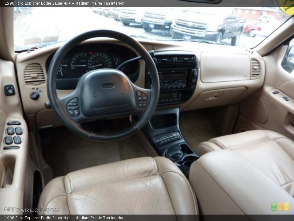 Medium Prairie Tan Interior Photo for the 1998 Ford Explorer Eddie Bauer 4x4 #46044905