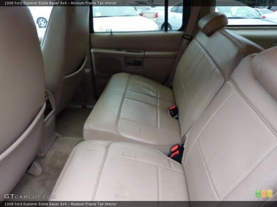 Medium Prairie Tan Interior Photo for the 1998 Ford Explorer Eddie Bauer 4x4 #46044920